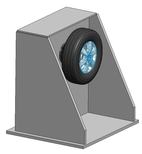 Fliehkraft-Kontur-Messmaschine für Motorradreifen