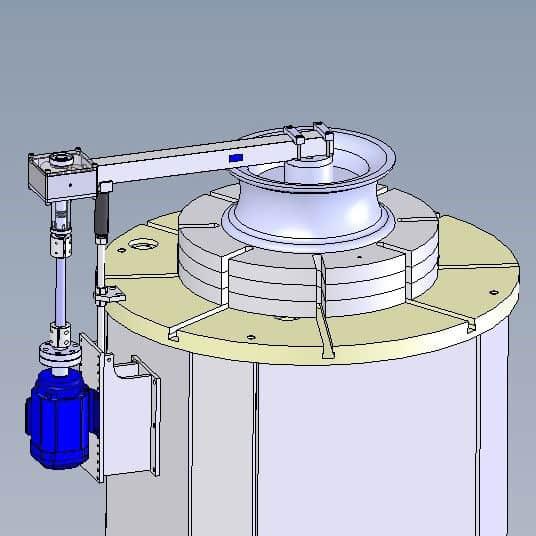Wechseltorsionsprüfmaschine (TTM)
