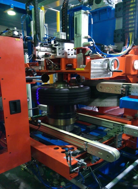Optische Messung der Reifengeometrie